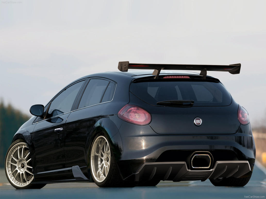 fiat bravo track car by carsrus on deviantart. Black Bedroom Furniture Sets. Home Design Ideas
