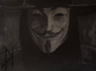 V for Vendetta by Patrick-Kennedy-Art
