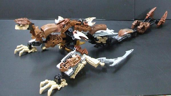 Bionicle MOC: Sand Crawler by Walipandai99