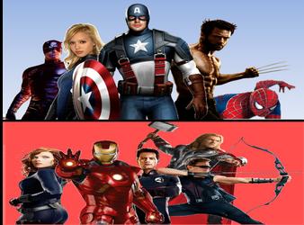 Marvel civil war background by Enderules3