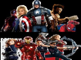 Marvel civil war by Enderules3