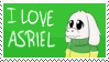 [Stamp][Undertale] I love Asriel Stamp by ShukaMadoxes