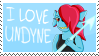 [Stamp][Undertale] Undyne Stamp by ShukaMadoxes