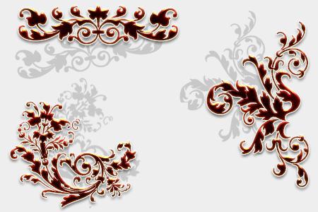 Ornamental Swirl Brushes by freddywang