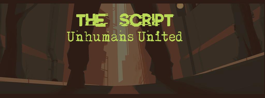 The Script - Unhumans United, Webcomics