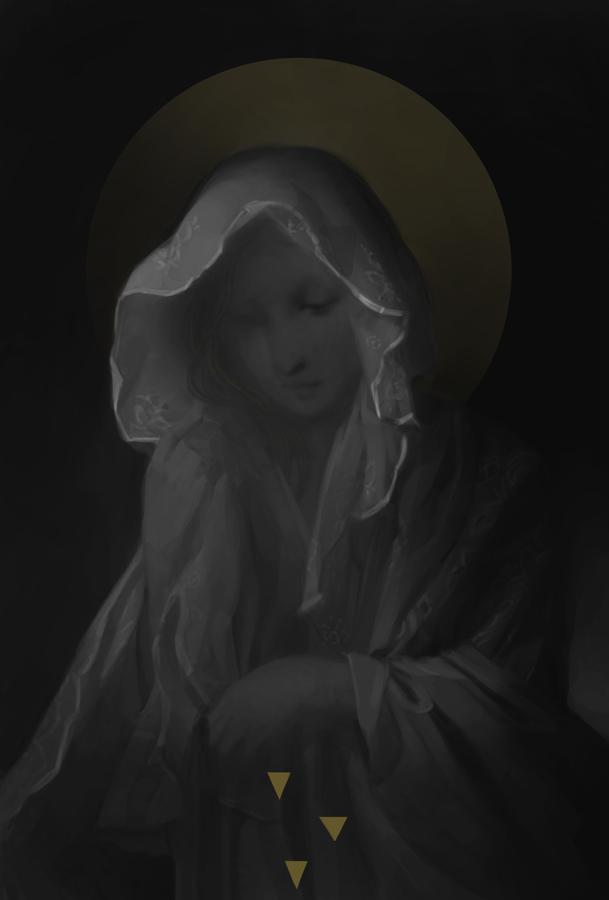 Angel-veil study by MaGLIL