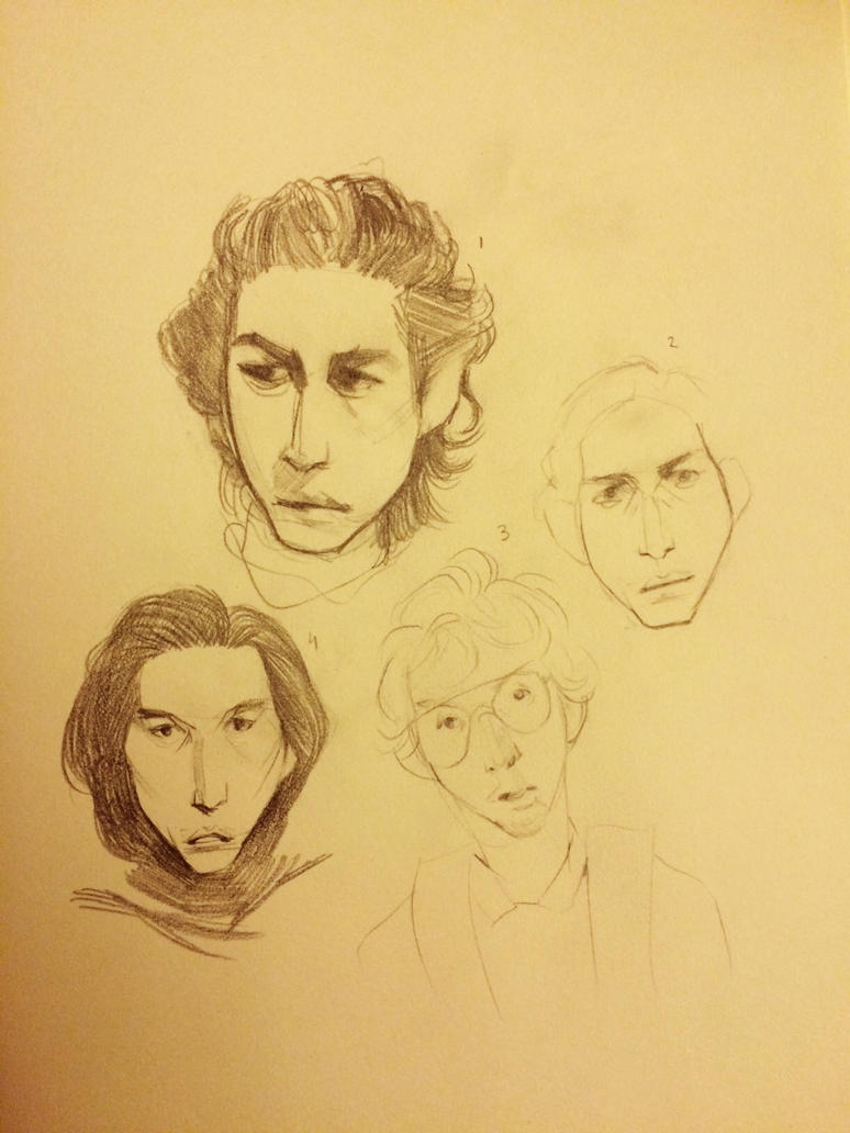 Kylo Ren progression by MaGLIL