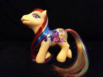 Friendship is Magic Custom Pony by MissGriss