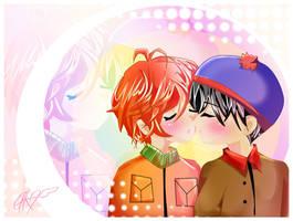 ..::.:VALENTINE KISS:.::.. by PinkAngelCha0