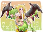 .::Giratina and Shaymin::.