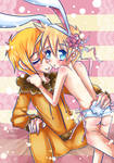 .::LOVE THE BUNNY::. by PinkAngelCha0