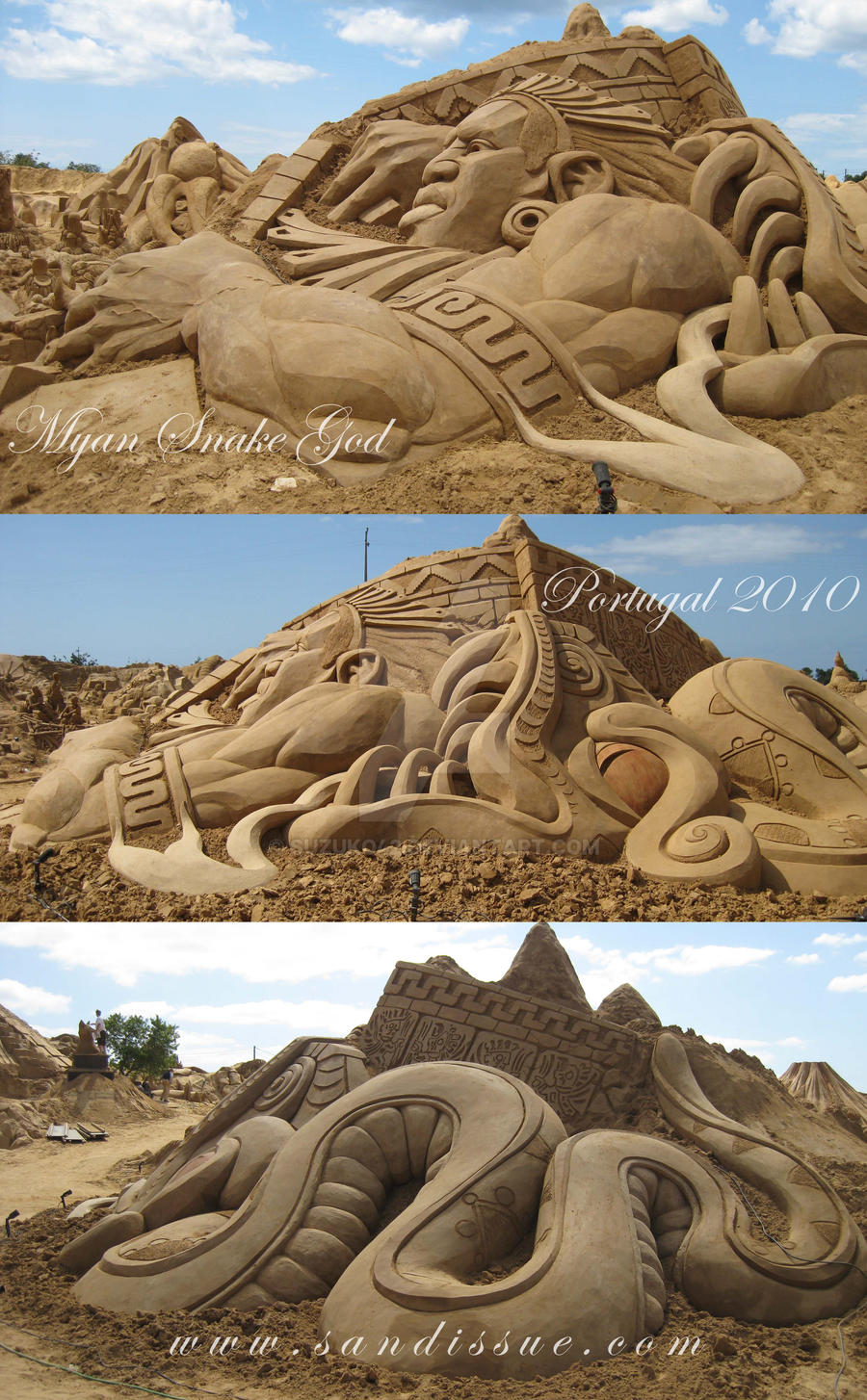 Myan Snake God by Suzuko42