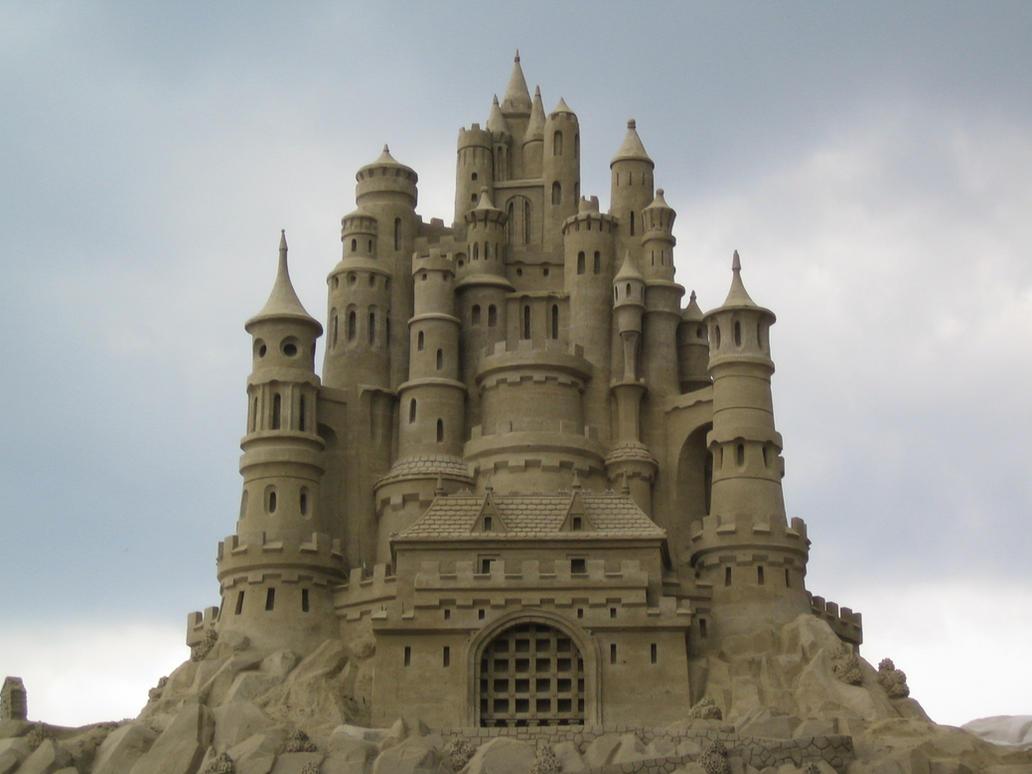 Sand Castle by Suzuko42 on DeviantArt
