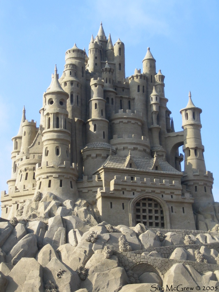 Sand Castle 2 by Suzuko42