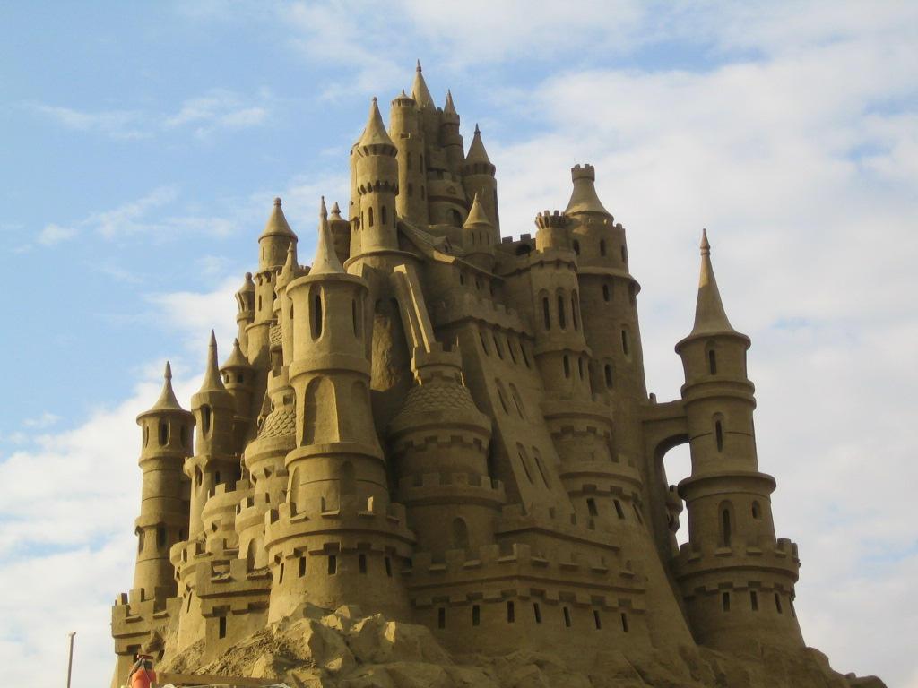 Sand Castle 4 by Suzuko42 on DeviantArt