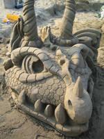 Sand Dragon Front by Suzuko42