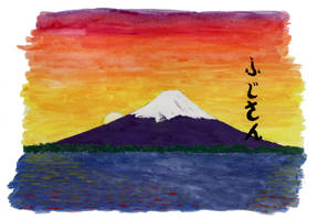 Fujisan by TomGonets