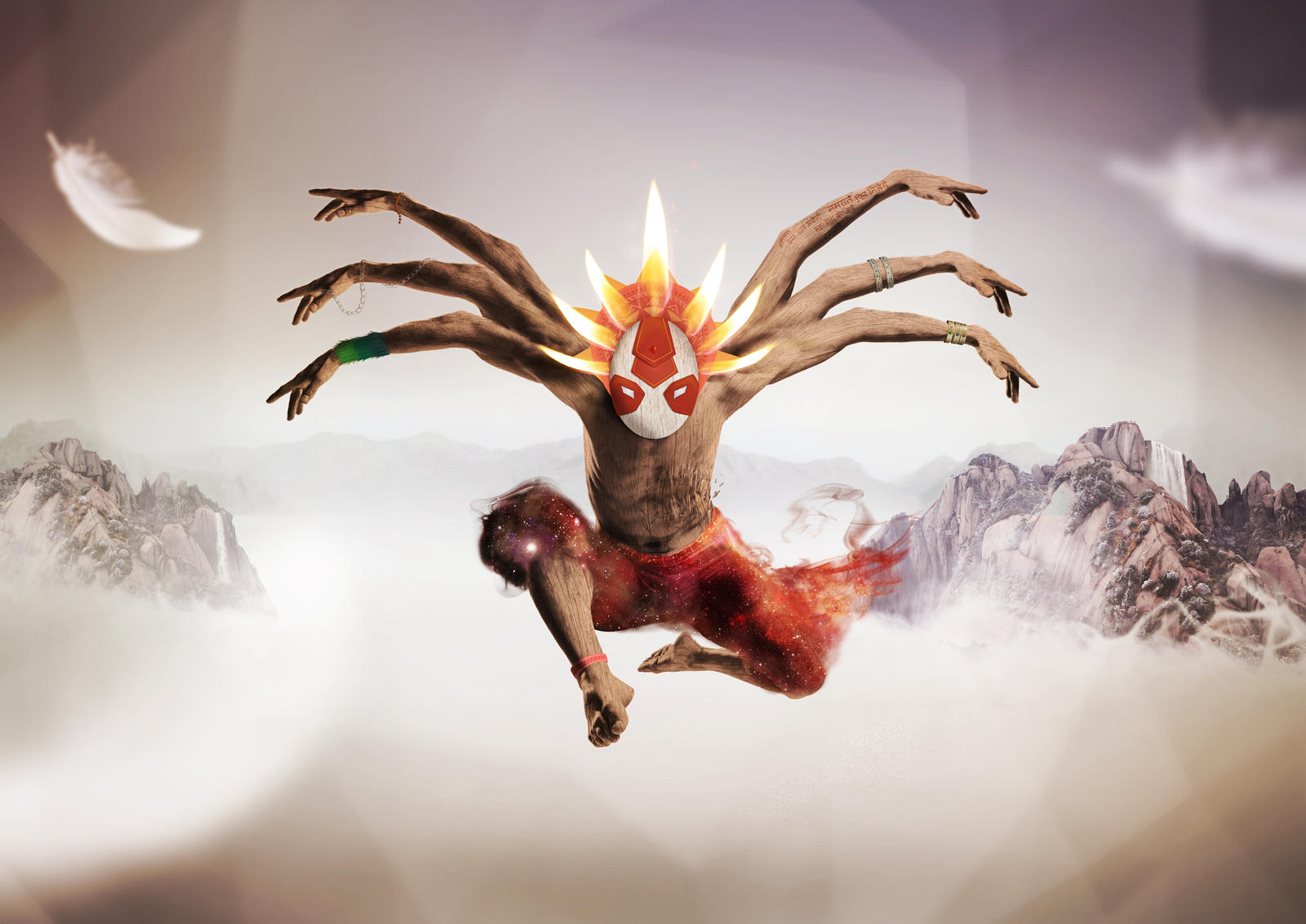 Myth in motion - Ten by fotolia contest by TomGonets