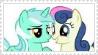 LyraxBonbon Stamp by HTFlover777