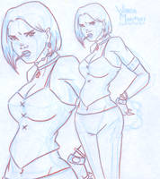 Future Wanda Maximoff by BlazeRocket