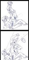 EPIC FIGHT by BlazeRocket