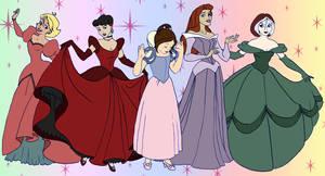 Evo Princesses by BlazeRocket