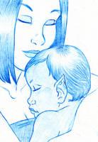 Mother's Love by BlazeRocket