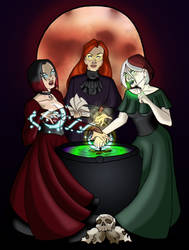 Weird Sisters by BlazeRocket