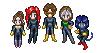 X-Sprites Take One by BlazeRocket
