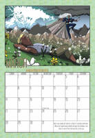 2010 Calendar - March by BlazeRocket