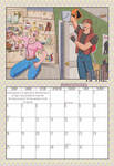 2010 Calendar - April by BlazeRocket
