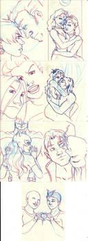 Less Than - Sketch by BlazeRocket