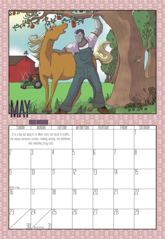 Rocket Calendar May : Evo obsessed club deviantart