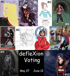 DEFLEXION VOTING by BlazeRocket