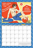 2010 Calendar - June by BlazeRocket