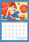 2010 Calendar - June by BlazeRocket