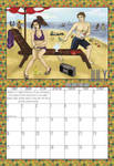 2010 Calendar - July by BlazeRocket