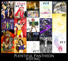 PLENTIFUL PANTHEON VOTING by BlazeRocket