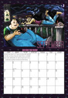 2010 Calendar - September by BlazeRocket