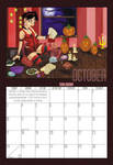 2010 Calendar - October by BlazeRocket