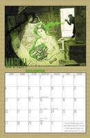 2011 Calendar - March by BlazeRocket