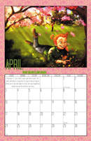 2011 Calendar - April by BlazeRocket