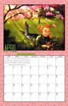 2011 Calendar - April