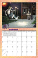 2011 Calendar - July by BlazeRocket