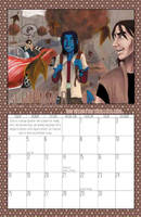 2011 Calendar - September by BlazeRocket