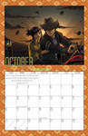 2011 Calendar - October by BlazeRocket