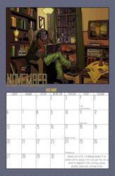 2011 Calendar - November by BlazeRocket