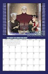 2011 Calendar - December by BlazeRocket