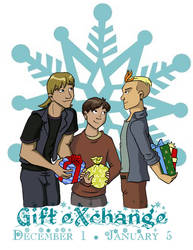 CONTEST: GIFT EXCHANGE by BlazeRocket