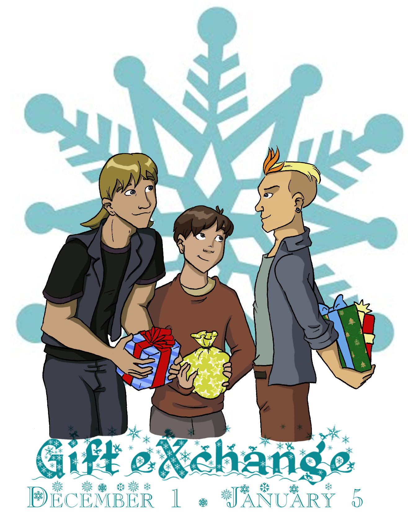 CONTEST: GIFT EXCHANGE